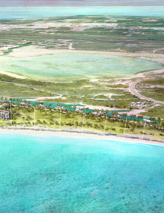 The Strand Turks and Caicos - Custom Homesites View