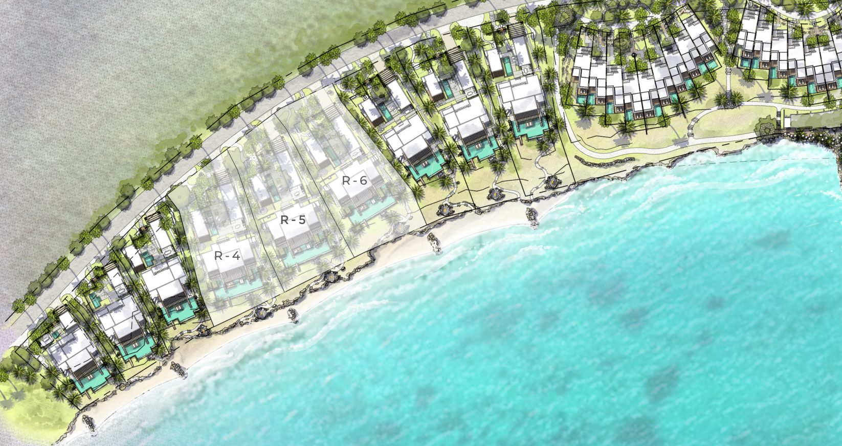 The Strand Turks and Caicos - Grand Residences map
