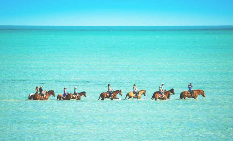 The Strand Turks and Caicos - Horse Back Riding