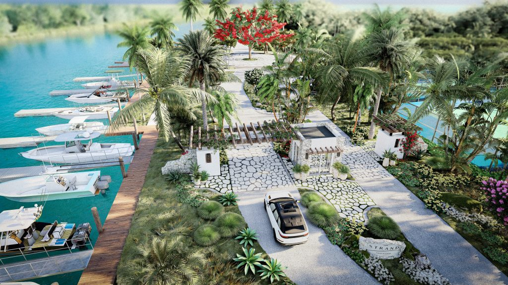 The Strand Turks and Caicos - Entry and Marina